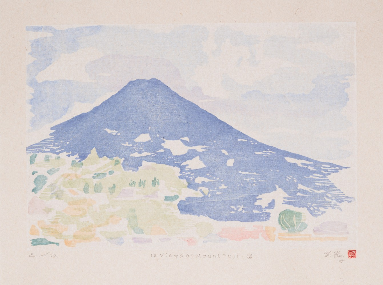 Full image of artwork 12 Views of Mount Fuji #8