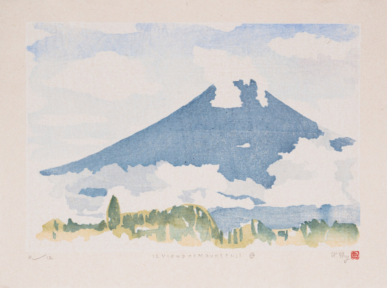 Full image of artwork 12 Views of Mount Fuji #10