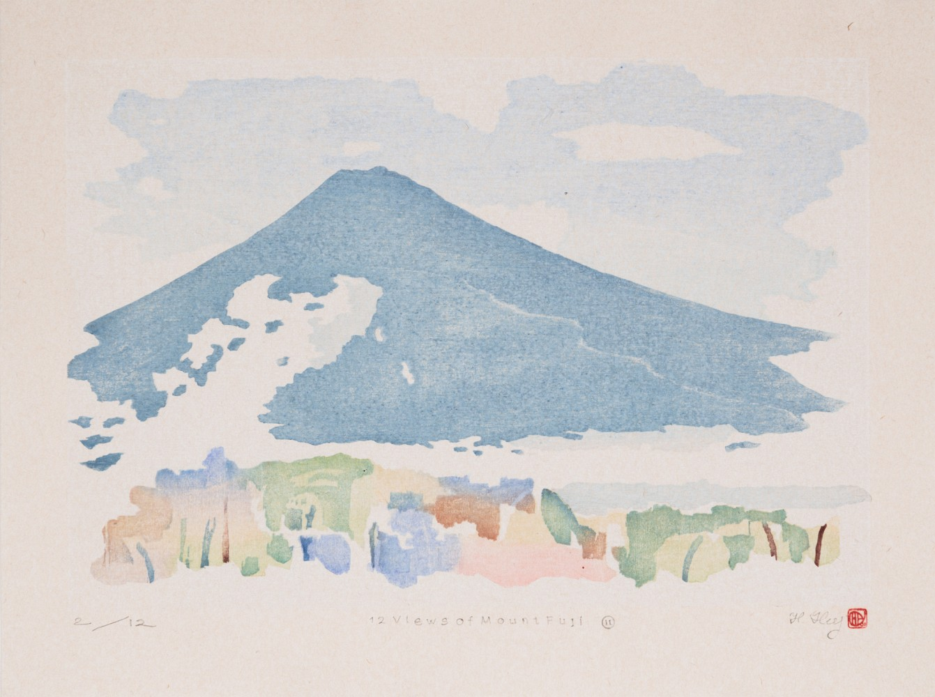 Full image of artwork 12 Views of Mount Fuji #11