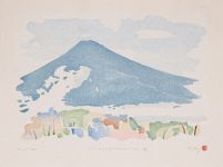 Thumbnail of artwork 12 Views of Mount Fuji #11